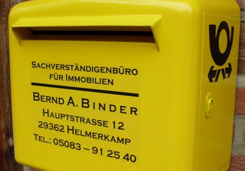 An-wen-soll-die-Post-gehen-2© Sachverständiger und Gutachter für Immobilien, Mieten und Pachten, Bernd A. Binder ( 2008 ).
