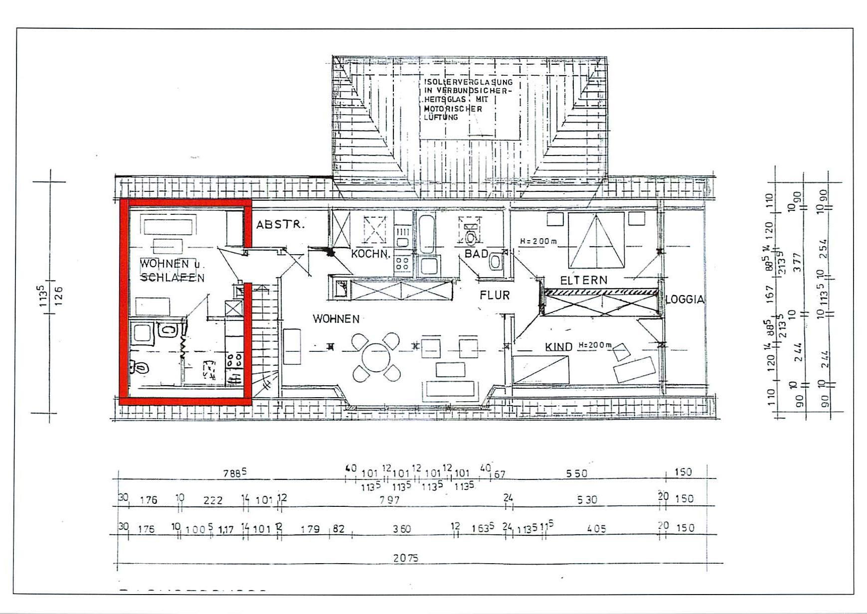 Vermietung 1 Zimmer Wohnung in Lachendorf
