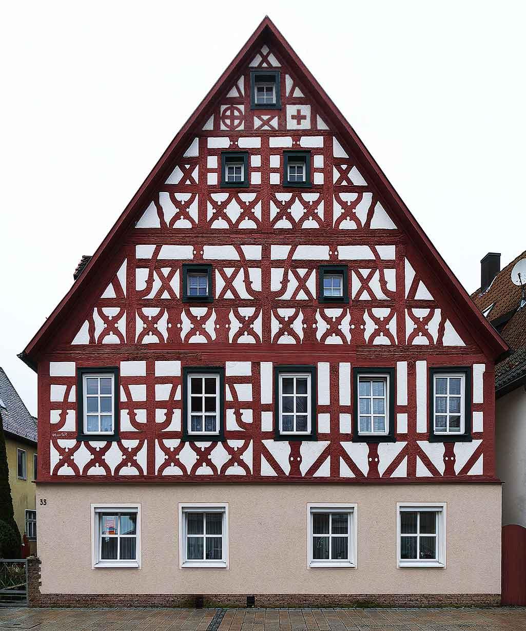 Ausfachung Fachwerk Sachverständiger und Gutachter für Immobilien Bernd A. Binder