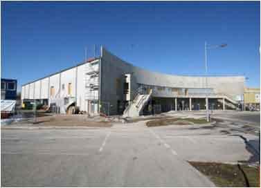 Referenzobjekt Einkaufszentrum (Rohbau) in Holzkirchen