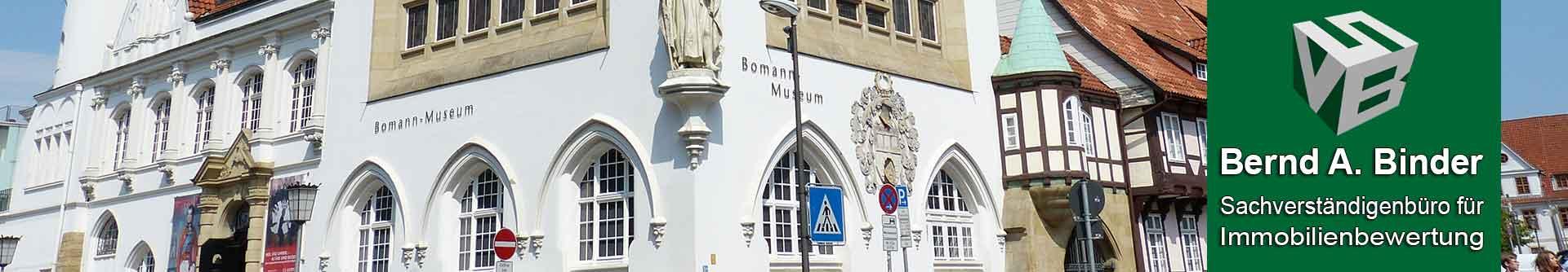 Header Altstadt Celle Sachverständiger und Gutachter für Immobilien Bernd A. Binder