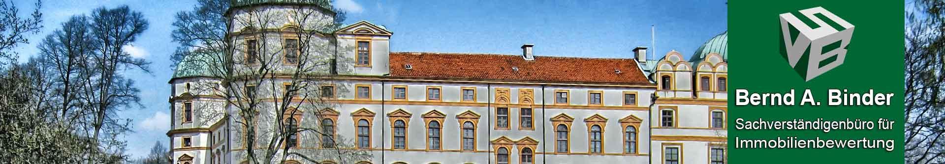 Header Schloss Celle Sachverständiger und Gutachter für Immobilien Bernd A. Binder