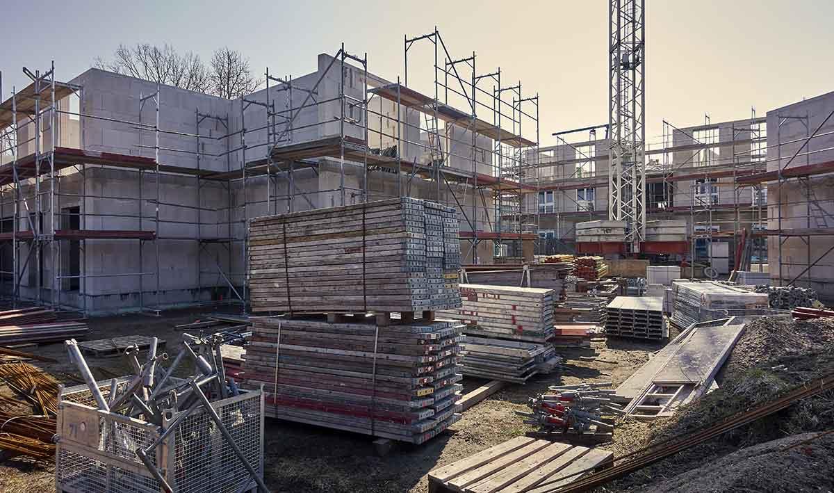 Baubeginn Sachverständiger und Gutachter für Immobilien Bernd A. Binder